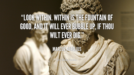 Wes Annac ~ The Teachers Speak Quote-marcus-aurelius-look-within-within-is-the-fountain-of-39387
