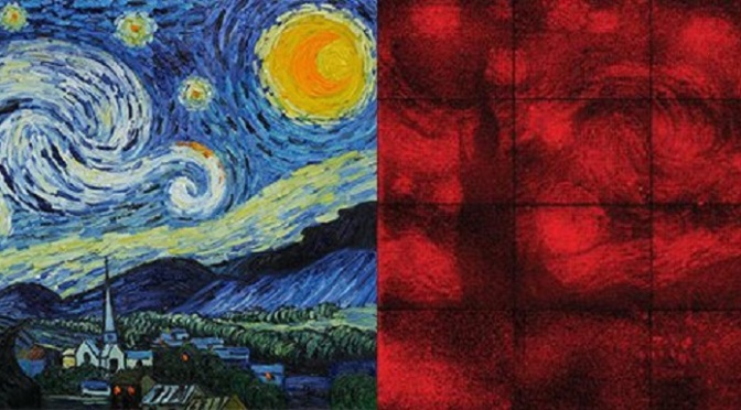 Scientists Recreate a Microscopic Starry Night by Folding DNA Image-starrynight2436-735-273