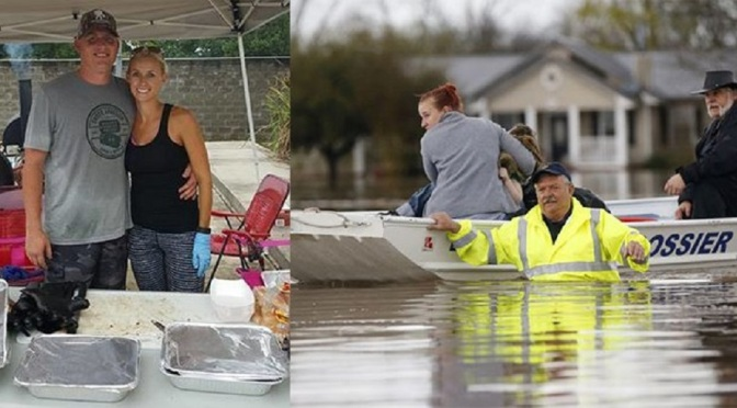 Couple Cooks Up a Feast for Louisiana Flood Victims Image-louisiana-white-735-350
