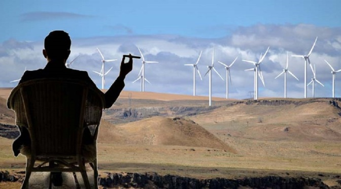 """State Now Claims It Owns the Wind — Taxing Renewable Energy """"Out of Existence"""" Wyoming"""