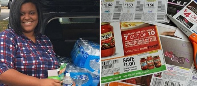 Extreme Couponer Plans to Feed 30,000 People by Her 30th Birthday