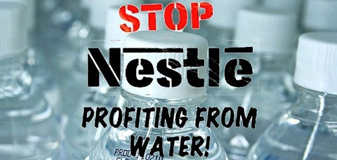 Outrage: Nestlé Buys Drought-Stricken Town's Water Supply
