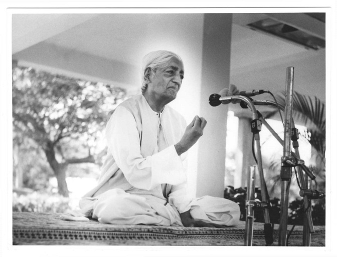 Krishnamurti Quotes: A Radical Change in Society