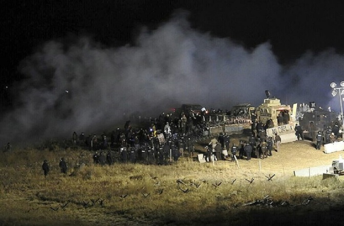 Ask Yourself, Why Is DAPL Turning the Site of a Peaceful Unarmed Camp Into a Warzone?