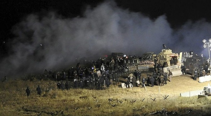 Ask Yourself, Why Is DAPL Turning the Site of a Peaceful Unarmed Camp Into a Warzone? Dapl-759x500