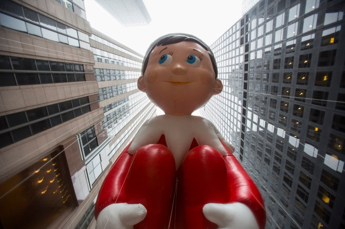 Giving The Gift of Constant Surveillance – Elf on the Shelf is Watching You