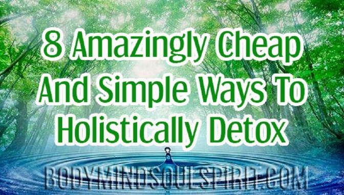 8 Amazingly Cheap And Simple Ways To Holistically Detox