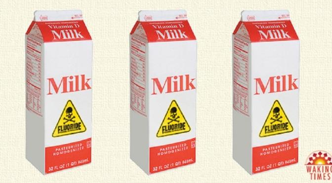 Town In England Mass Medicates School Children with Free Fluoridated Milk Fluoride-milk