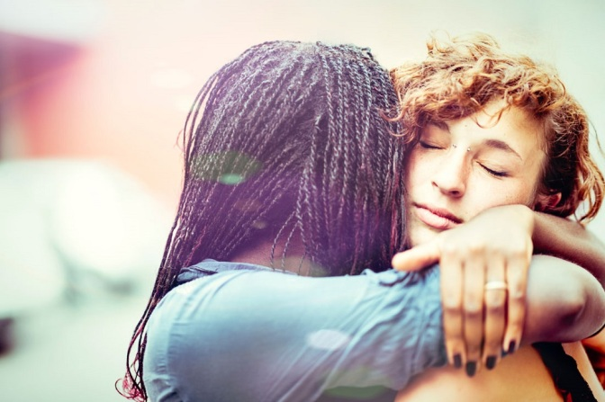 The Unseen Effects of Embracing Someone
