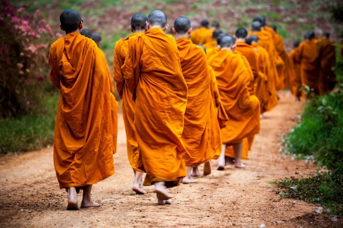 Buddhist Monk Found In Possession Of 4.2 Million Methamphetamine Pills Along With A Grenade And Ammunition All Hidden In His Monastery