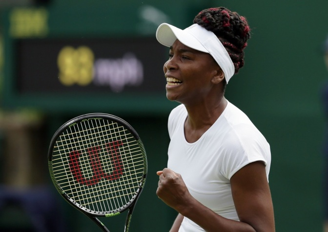 Venus Williams Credits Vegan Diet With Helping Her Combat Auto-Immune Disease