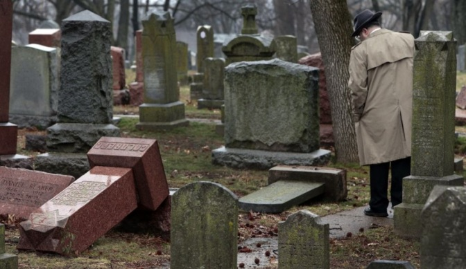 100+ Gravestones Damaged In Jewish Cemetery, Muslim Community Helps Raise Funds Within Hours