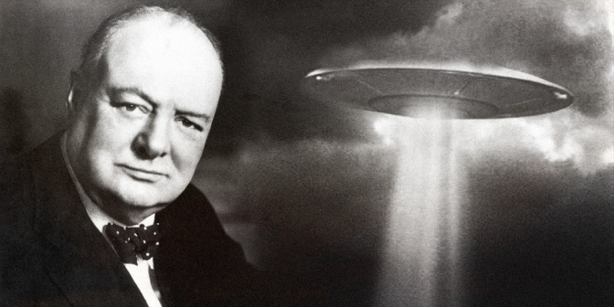 Unpublished Churchill Essay Shows That He Believed In Alien Life