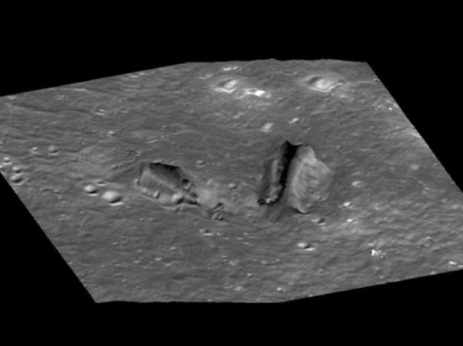 "Image Study of our Moon Finds ""Unusual Structures"" & Potential ""Passageways"" Leading Underground"