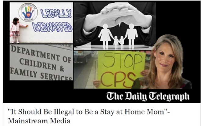 """It Should Be Illegal to Be a Stay at Home Mom"" – Mainstream Media"