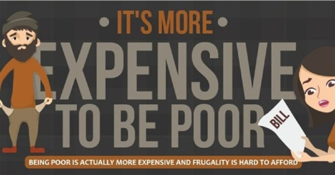 Infographic Explains Why It's More Expensive To Be Poor