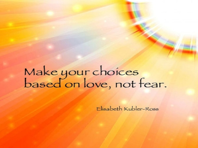 Choose Love – and Be the Change!