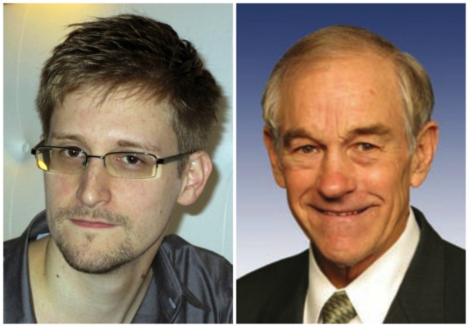 Ron Paul Interviewing Edward Snowden is the Best Thing You'll See All Week