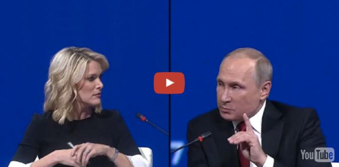 Mainstream Media Anchor Gets Schooled By Vladimir Putin About The Chemical Weapon Attacks In Syria