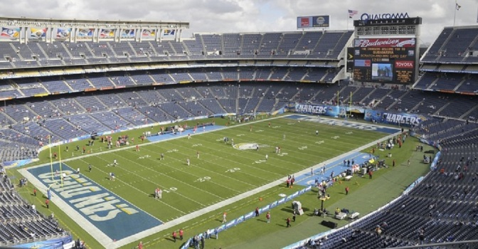 San Diego Wants to Allow Homeless People to Live Inside Empty Football Stadium