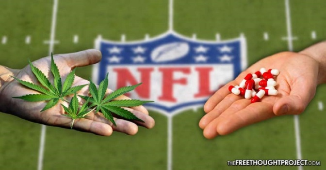 For the First Time, NFL Acknowledges Benefits of Cannabis, Offers to Study it for Pain
