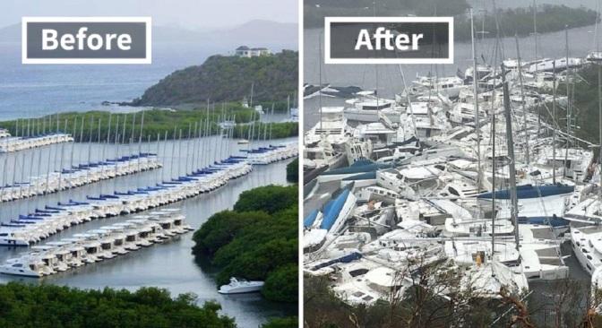 45+ Unbelievable Photos Reveal The Damage Irma Has Already Caused