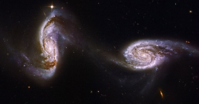 Astronomers Discover Massive 'Magnetic Bridge' Between the Closest Galaxies