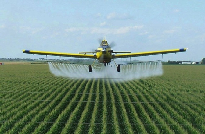 Study: 75% of AIR and Rain Samples Tested Positive for Monsanto's Roundup