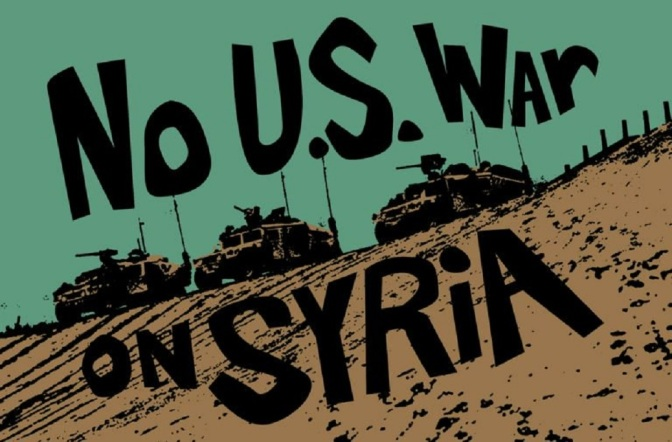 No War With Syria: List of Emergency Protests Happening Now in the United States
