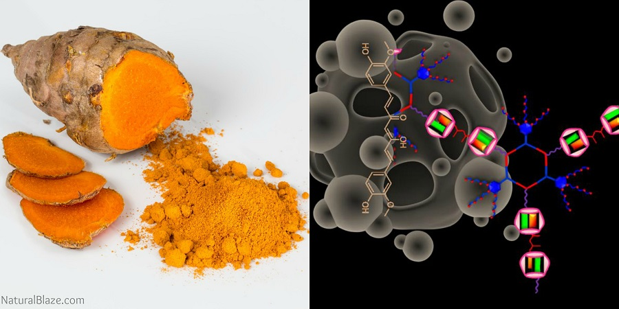 Researchers Develop New Method to Inject Turmeric Compound Into Cancer Cells  Turmeric-tumor
