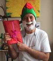 shaving-cream-santa